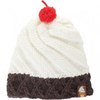 Cone Beanie - vanilla - osfa