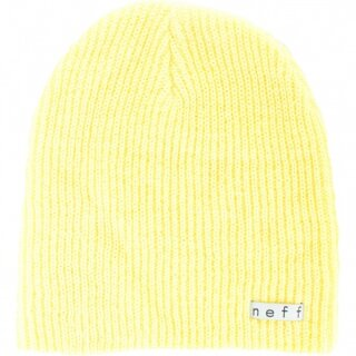 Daily Beanie - light yellow osfa
