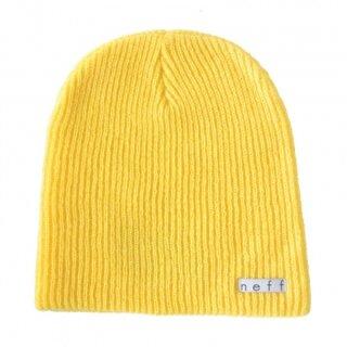 Daily Beanie - yellow osfa