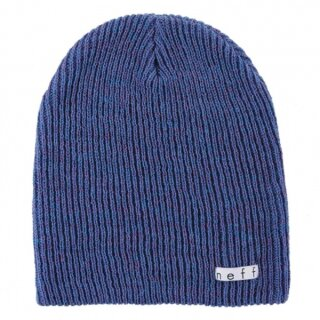 Daily Heather Beanie - blue purple