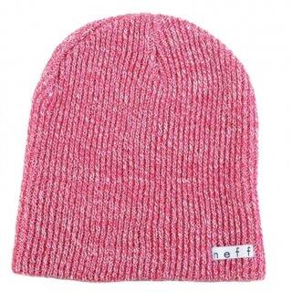 Daily Heather Beanie - pink white osfa