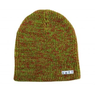Daily Heather Beanie - rasta - osfa