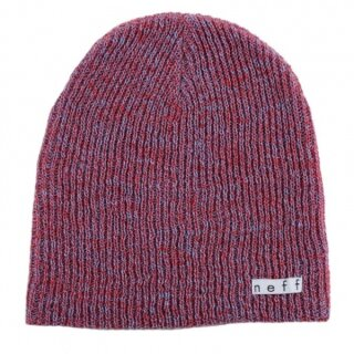 Daily Heather Beanie - red blue