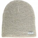 Daily Heather Beanie - tan white