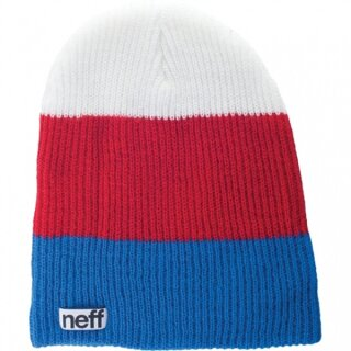 Trio Beanie - blue red white osfa