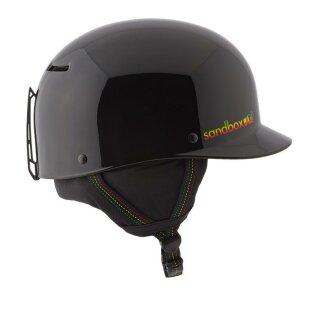 Classic 2.0 Snow Helm - black rasta gloss