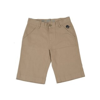 Youth Twill Walk Short - brown