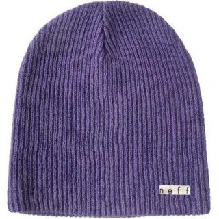 Daily Beanie - dark purple osfa