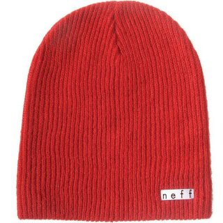 Daily Beanie - red
