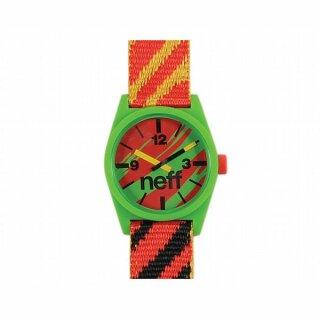 Daily Woven Watch Uhr - rasta
