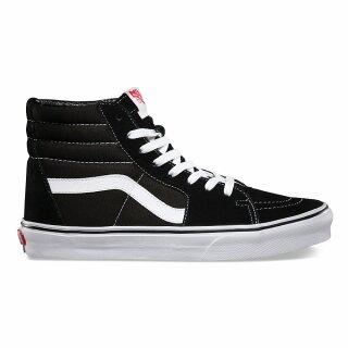 Sk8-Hi Schuh - black black white 10