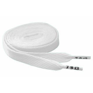 Hard Candy Laces Flat - white