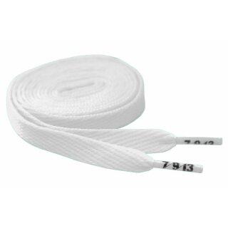 Hard Candy Laces Flat - white