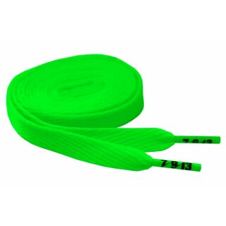Hard Candy Laces Flat - neon green