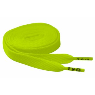 Hard Candy Laces Flat - neon lime green