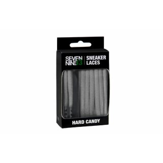Hard Candy Laces Round - grey
