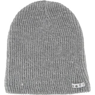 Daily Heather Beanie - grey heather white