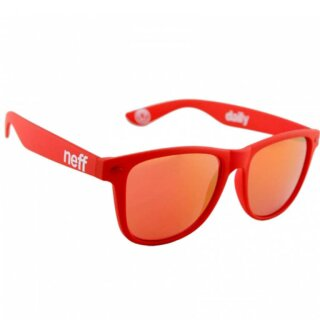 Daily Sonnenbrille - red rubber