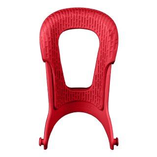 Midback 2 Highback - warm red