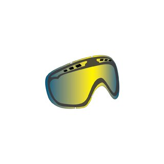 D1XT Replacement Lens - yellow blue ionized
