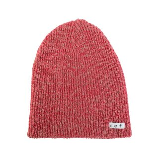 Daily Heather Beanie - red twill