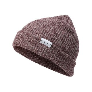 Fold Heather Beanie - port white