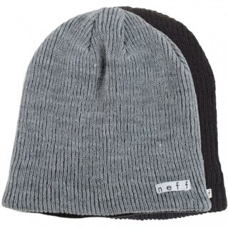 Daily Reversible Beanie - black grey