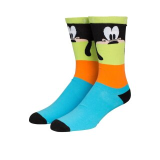 Look Out Goofy Socken - lime
