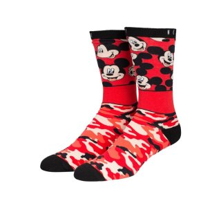 All Smiles Mickey Socken - red