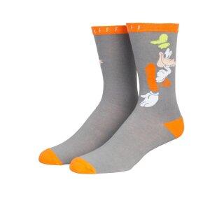 Shy Goofy Socken - grey heather
