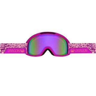 DX2 Schneebrille - stone pink pink ion - amber