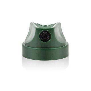 Level 3 Cap - dark green black