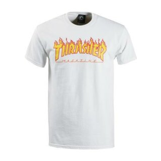 Flame T-Shirt - white