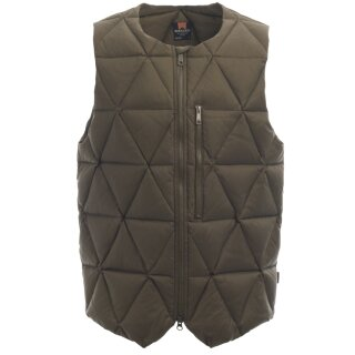 Ms Pyramid Down Vest - Olive