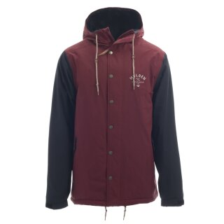 Ms Team Jacket Camp - Maroon/Black
