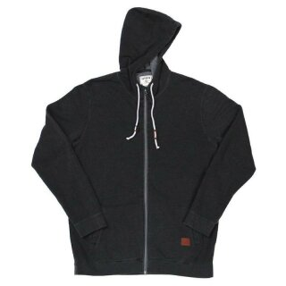 Jefferson Zip Fleece - vintage black