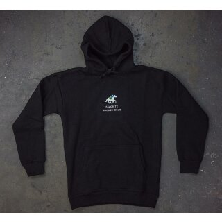 Jockey Club Kapuzensweater - black
