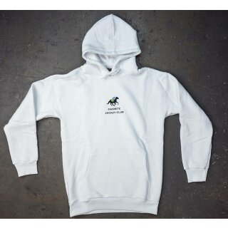 Jockey Club Kapuzensweater - white