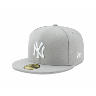 MLB Basic New York Yankees Cap - heather grey white