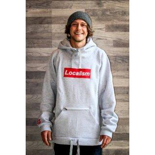 Localism Kapuzensweater - grey