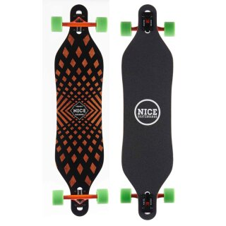 Camber Single Concave Twin Longboard - Liner