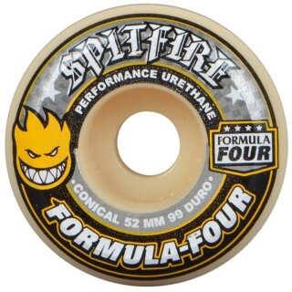 F4 Conical  Wheels 99A - yellow