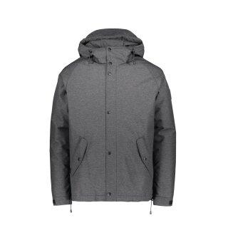 Lined Raglan Jacket - dark grey