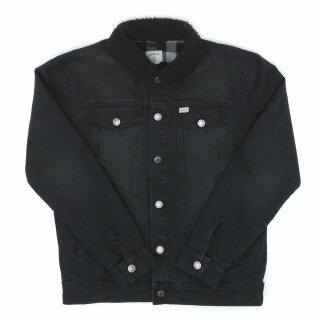Brint II Denim Jacke - black
