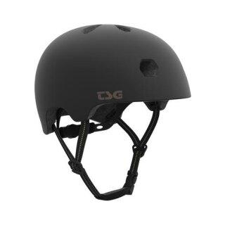 TSG Meta Solid Color Helm - satin-black