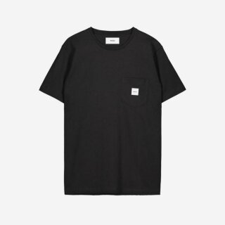 Square Pocket T-Shirt - black
