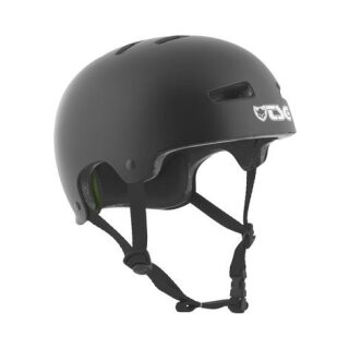 TSG Evolution Helm Solid Color - satin black