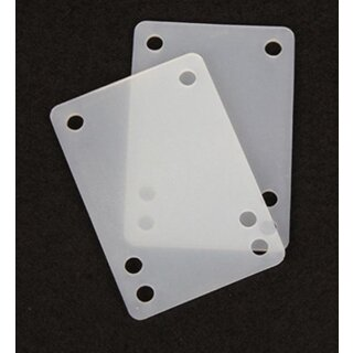 Shockpads 1/8 3mm Soft Transparent 2pcs