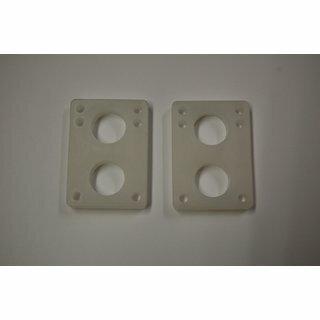 Riserpads 1/2 12mm Soft Transparent 2pcs