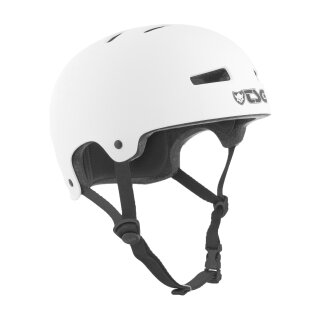 TSG Evolution YOUTH Helm Solid Color - satin white